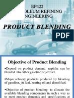 Chapter 7b - Product Blending
