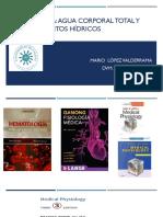 1. Hematología.Agua corporal total y compartimentos Hídricos