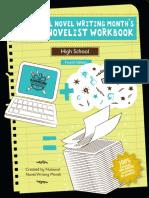 NaNo Novel Workbook