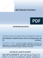 Gestion Del Talento Humano Powerpoint