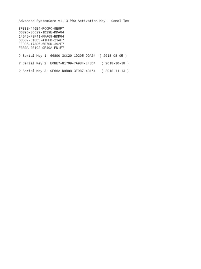 advanced systemcare 11.4 pro code