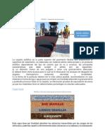 Carpeta Asfáltica, Base, Subbase, Tipos de Pavimento Rigido