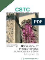 Reparation Et Protection Des Ouvrages en Beton Nit 231 2007 - Cstc - Be
