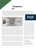 Modernidad, Progreso y Decadentismo (Museo Reina Sofía)