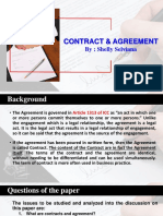 Contract & Agreement