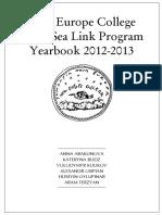 Anuar Black Sea Link 2012-2013