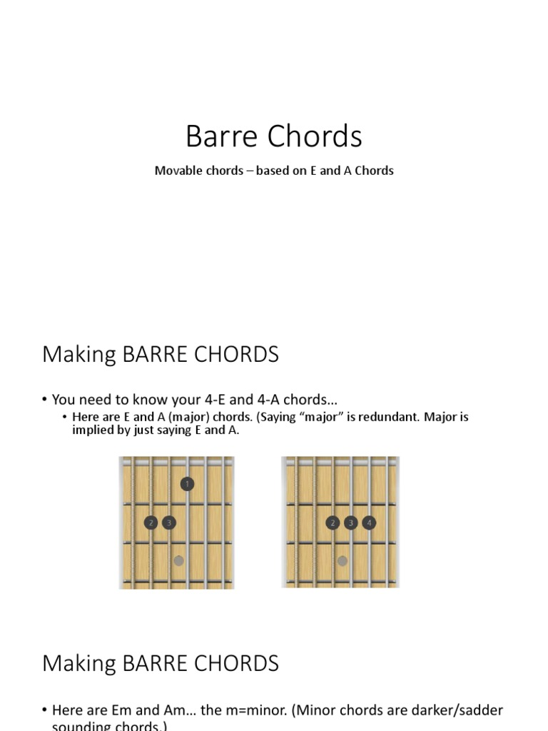 Barre Chords Guitars Guitar Family Instruments