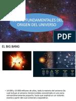 Teorías Fundamentales Del Origen Del Universo