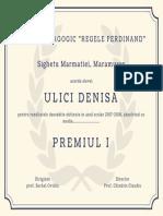 Ornate Pattern University Diploma Certificate (1)