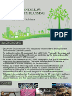 Environmental Law & Community Planning
