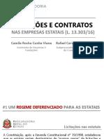 2018 05 09 - Apresentação CEPGE - Licitações e Contratos Nas Empresas Estatais - Lei 13.303-2016