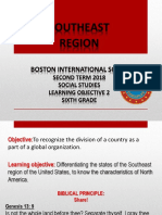 6th Southeast Region PPT June 5th- 15,2018
