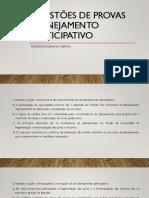 Questões de Provas - Planejamento Participativo - Pedagogia Para Concursos