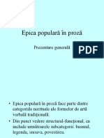 Proza Populara