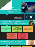 Técnicas Fonoaudiológicas Para La Voz - Copia
