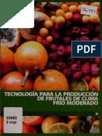 Tecnología Para La Producción de Frutales de Clima Frío Moderado