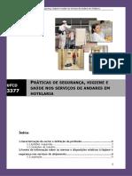 Manual Ufcd 3377 - Praticas de Segurana Higiene e Saude Nos Servios de Andares Em Hotelaria