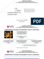 Normatividad en Seguridad Ocupacional en Peru