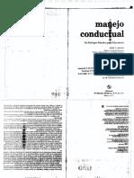 Manejo Conductual