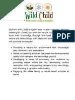 wild child parent handbook