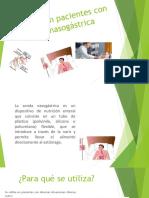 Cuidados en Pacientes Con Sonda Nasogástrica