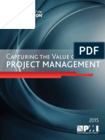 1 Capturing the Value of Project Management Pulse-Of-The-profession-2015
