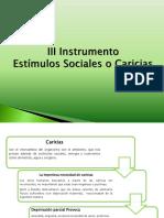 3 Instrumento Estimulos Sociales o Caricias