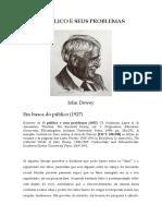 DEWEY, John (1927) O público e seus problemas. Excertos - Em busca do público.pdf