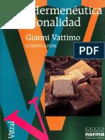Vattimo - Hermeneutica-y-Racionalidad Desbloqueado Editable