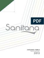 Catálogo Sanitana 2013