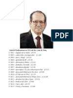 Lista de Cds Rev. Luis M. Ortíz