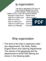 Ship organization.ppt