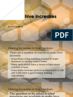Making Hive Increases