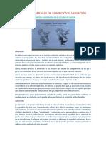 Conceptos Generales de Adsorción y Absorción