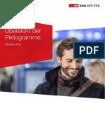 SBB Piktogramme Uebersicht