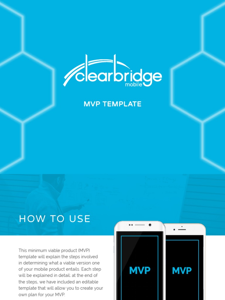 clearbridgemobile mvp template goal self improvement