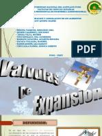 Válvulas de Expansión  pdf