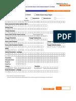 Form Registrasi CMS BRI (CMS-01b)