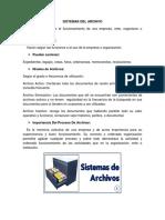 Sistemas Del Archivo