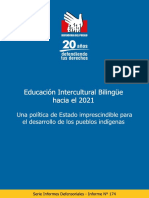 Informe Defensorial 174 EIB