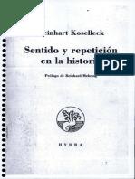 Koselleck_Sentido y Repeticion Enla Historia