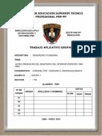 Leyes Organicas Del Ministerio Del Interiror. 1969-1985, Seguridad Ciudadana