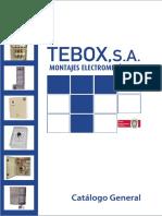 Catalogo-General TEBOX Montajes ELectromecánicos