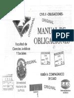 Compagnucci de Caso - _Manual de Obligaciones