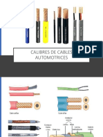 Calibres de Cables Automotrices