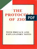 Marsden Victor Emile - The Protocols of Zion