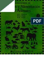 Nutricion y Alimentacin de Animales CHURCH.pdf