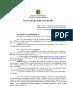 Lei 1.1483 2007 IPHAN Revitalização Setor Ferroviário