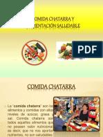comidachatarravsalimentacinsaludableppt-140831213635-phpapp01