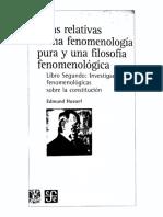 [2005] Husserl - Ideas II Trad Zirion Quijano